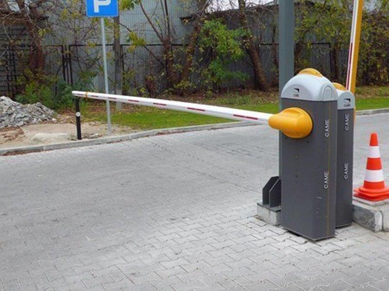 Cancela para estacionamento