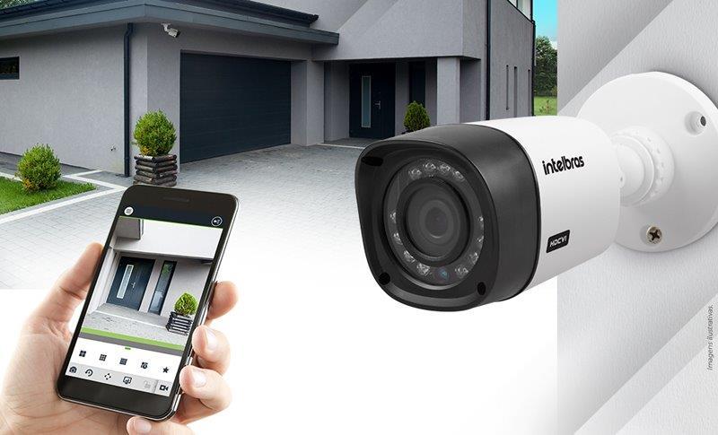 Instalação de câmeras de segurança e alarmes